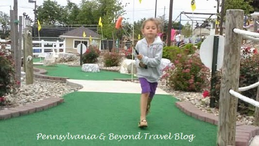The Meadows Mini Golf in Harrisburg Pennsylvania