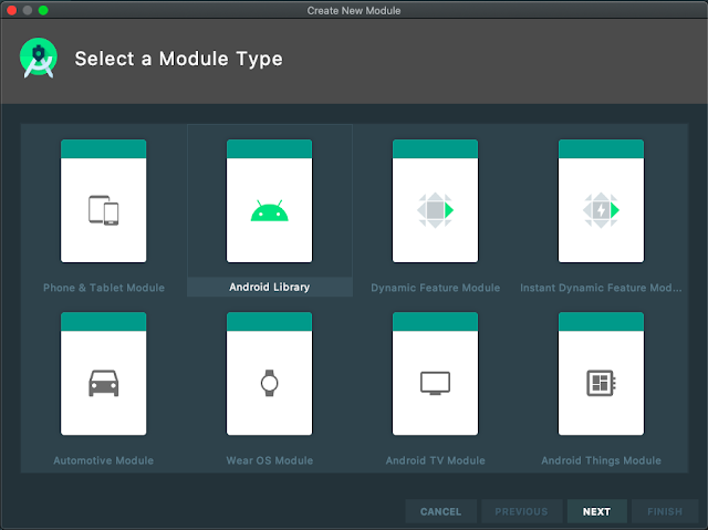 Select Module Type