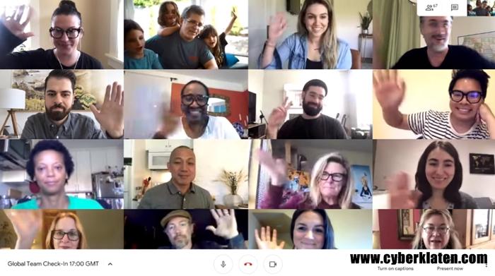 Mengubah Nama Google Meet Melalui Komputer