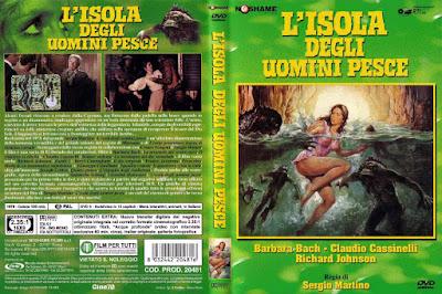 Carátula dvd: La isla de los hombres peces (1979)