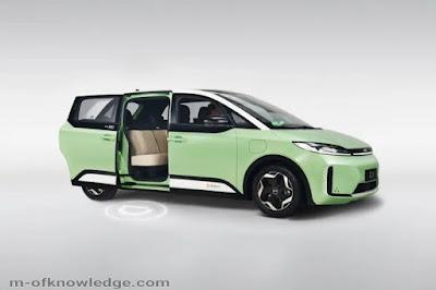 سيارة D1 الكهربائية الصينية أول سيارة كهربائية مخصصة للنقل التشاركي الذكي