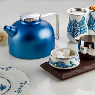 Poetic Garden Tea Pot by Arttd'inox