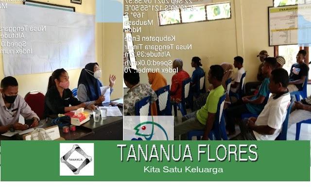 DPK Ende dan Tananua Flores Sosialisasi Kartu KUSUKA untuk Nelayan di Kecamatan Ndori