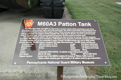 M60A3 Patton Tank at Fort Indiantown Gap Pennsylvania