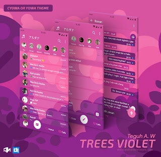 Trees Violet