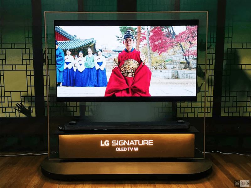 """LG Electronics showcased Korean Netflix drama """"Kingdom"""" on the B8 4K OLED TV"""