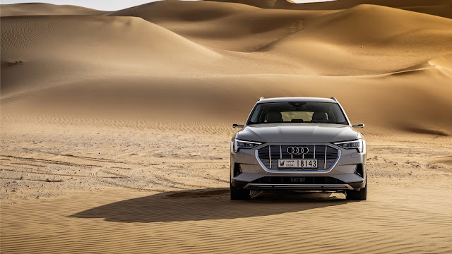 Audi Silver Sports Car 2020 Wallpaper