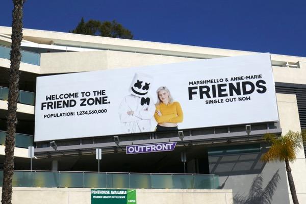 Marshmello Anne-Marie Friends billboard