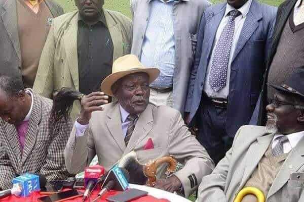 Kalenjin Council of elders photo