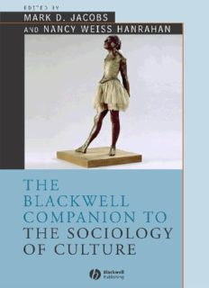 Sociology of Culture free boks