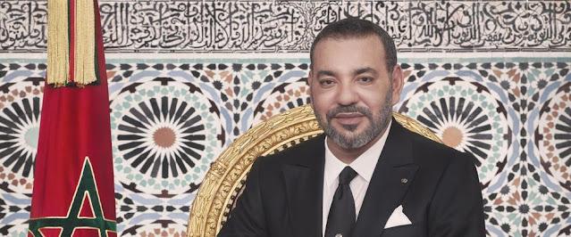 جلالة الملك يتحدث هاتفيا مع السيد محمد ولد الشيخ الغزواني ، رئيس موريتانيا