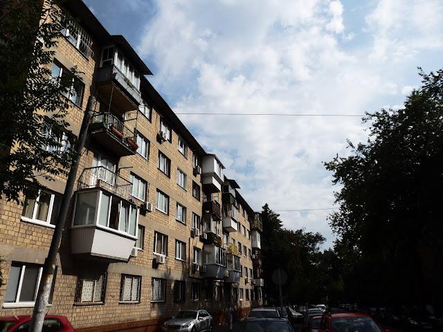 Bloki w Kijowie