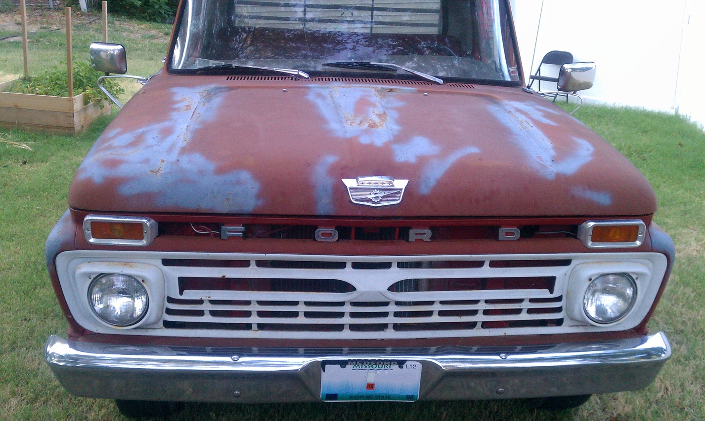 Cranky Puppy Farm: 1966 Ford Pickup. I Rule.