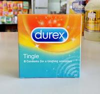 Kondom Durex Tingle isi 3