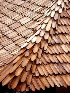 หลังคาไม้ไผ่