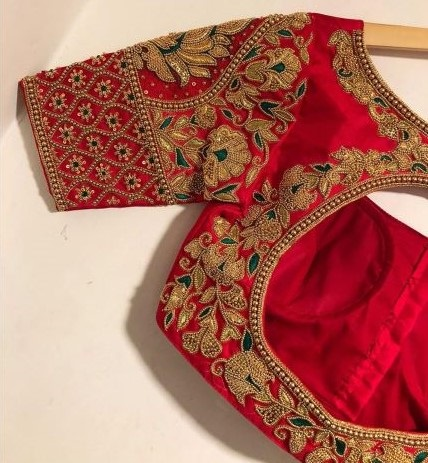 55 Latest Blouse Designs Photos For Stylish Look Fashiongyd