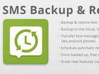Cara Backup dan Restore SMS pada HP Android