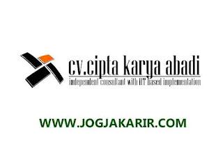 Loker Jogja Maret 2021 Di Cv Cipta Karya Abadi Loker Terbaru