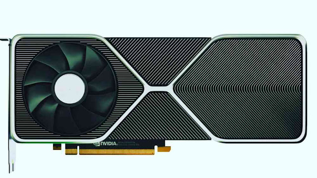 The Ampere-based RTX 3080 looks very different from the designs