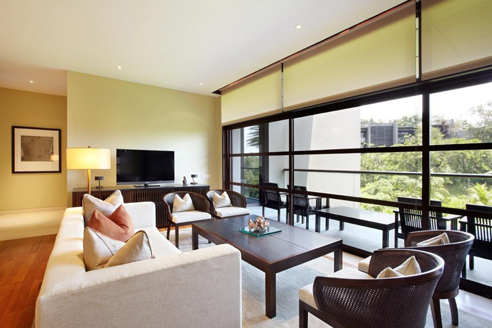 The Club Residences 2 Bedroom Suites - Living Hall