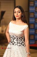 Actress Pooja Salvi Stills in White Dress at SIIMA Short Film Awards 2017 .COM 0120.JPG