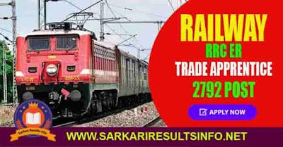 Railway RRC ER Apprentice Apply Online