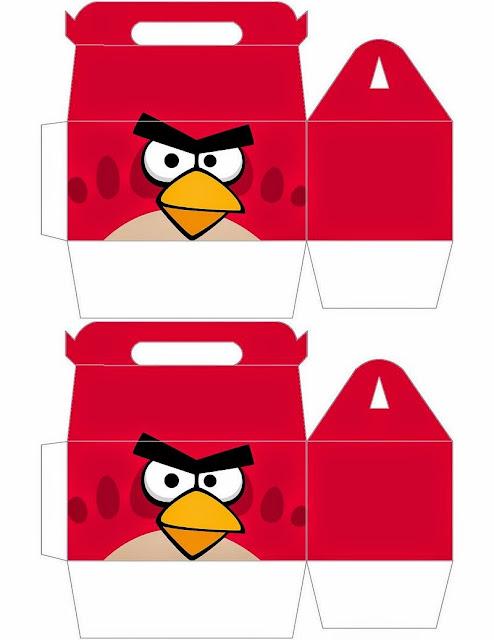 Angry birds Free Printable Box.