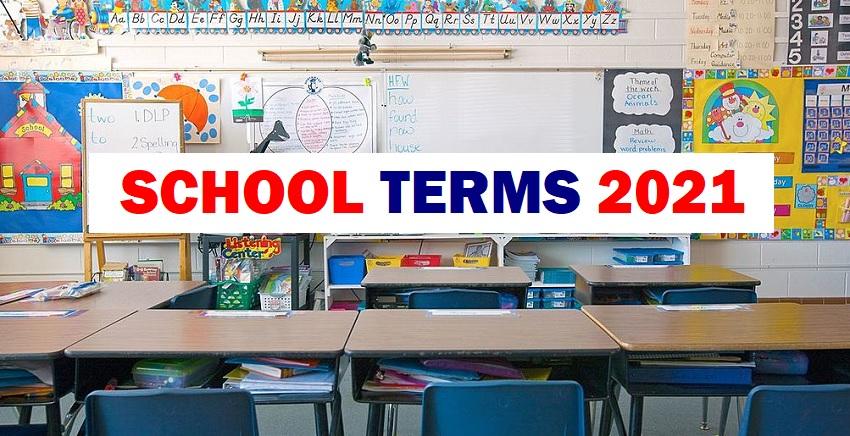 School Terms 2021