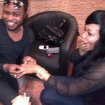 yemi sax engages girlfriend