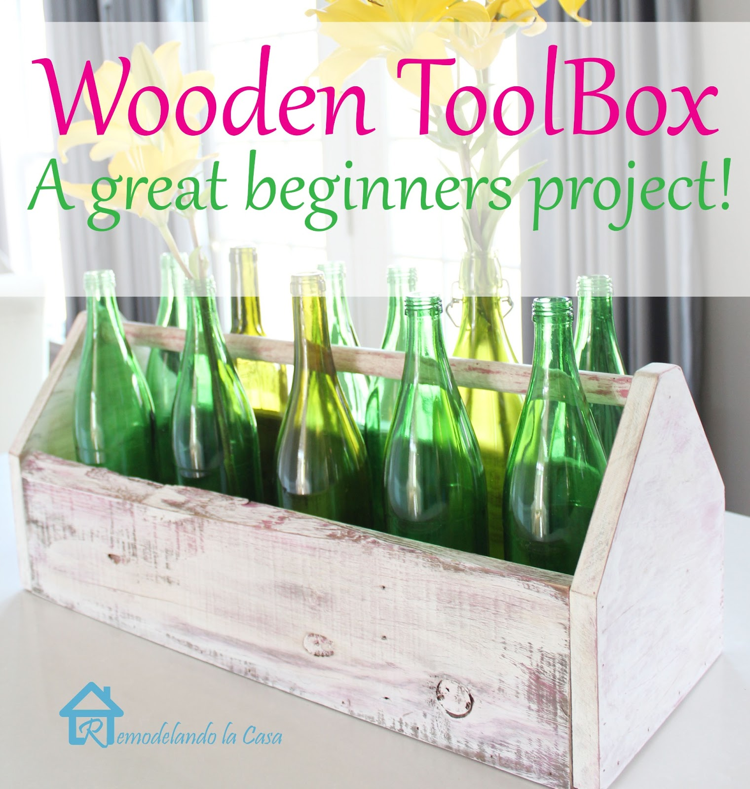 how to make a toolbox made out of wood