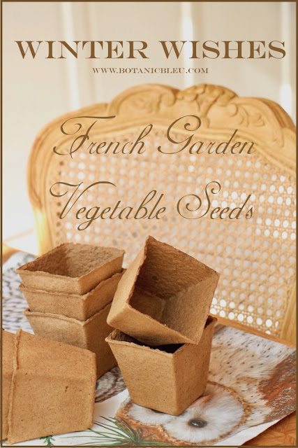 Winter wishes for French garden vegetables
