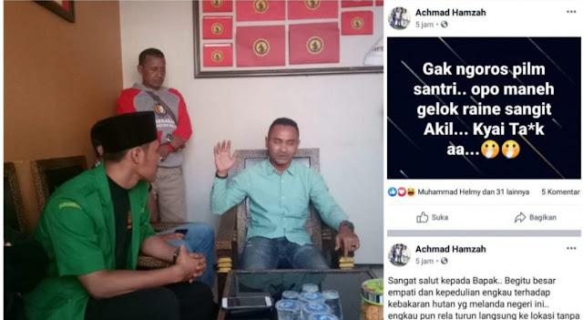 Hina Kiai Said Lewat Facebook, Seorang Pria Asal Pasuruan Minta Maaf di Kantor Polisi