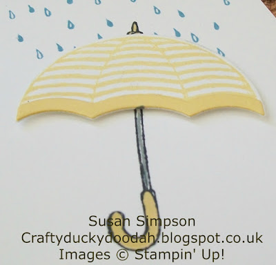 Stampin Up! UK Independent  Demonstrator Susan Simpson, Craftyduckydoodah!, Weather Together, Umbrella Weather Framelits Dies, Supplies available 24/7,