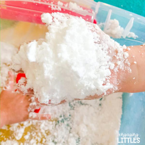 kids-fake-snow-recipe