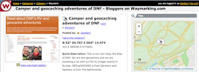 waymarking categorie bloggers Den Haag Bedburg