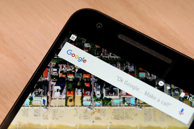Nexus 6P Google search bar