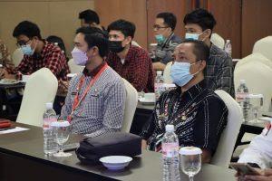 Kadis Kominfotik Lampung Jadi Narasumber Kegiatan Roadshow IdenTIK