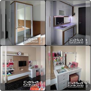 Furniture warna cerah