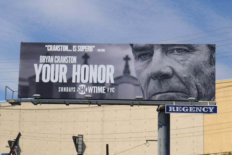 Your Honor season 1 FYC billboard