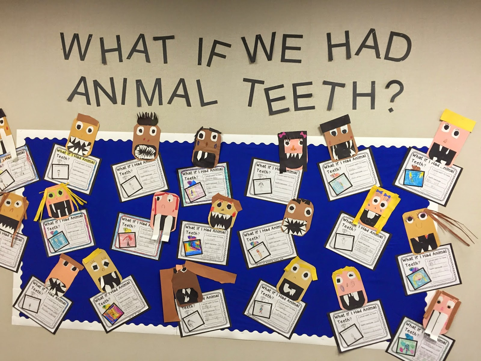 Camp Kindergarten What If I Had Animal Teeth