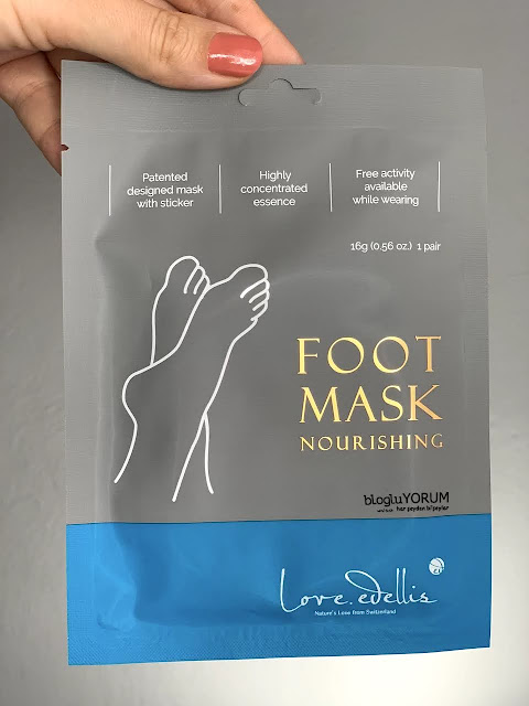 Love Edellis Foot Mask Nemlendirici Ayak Maskesi