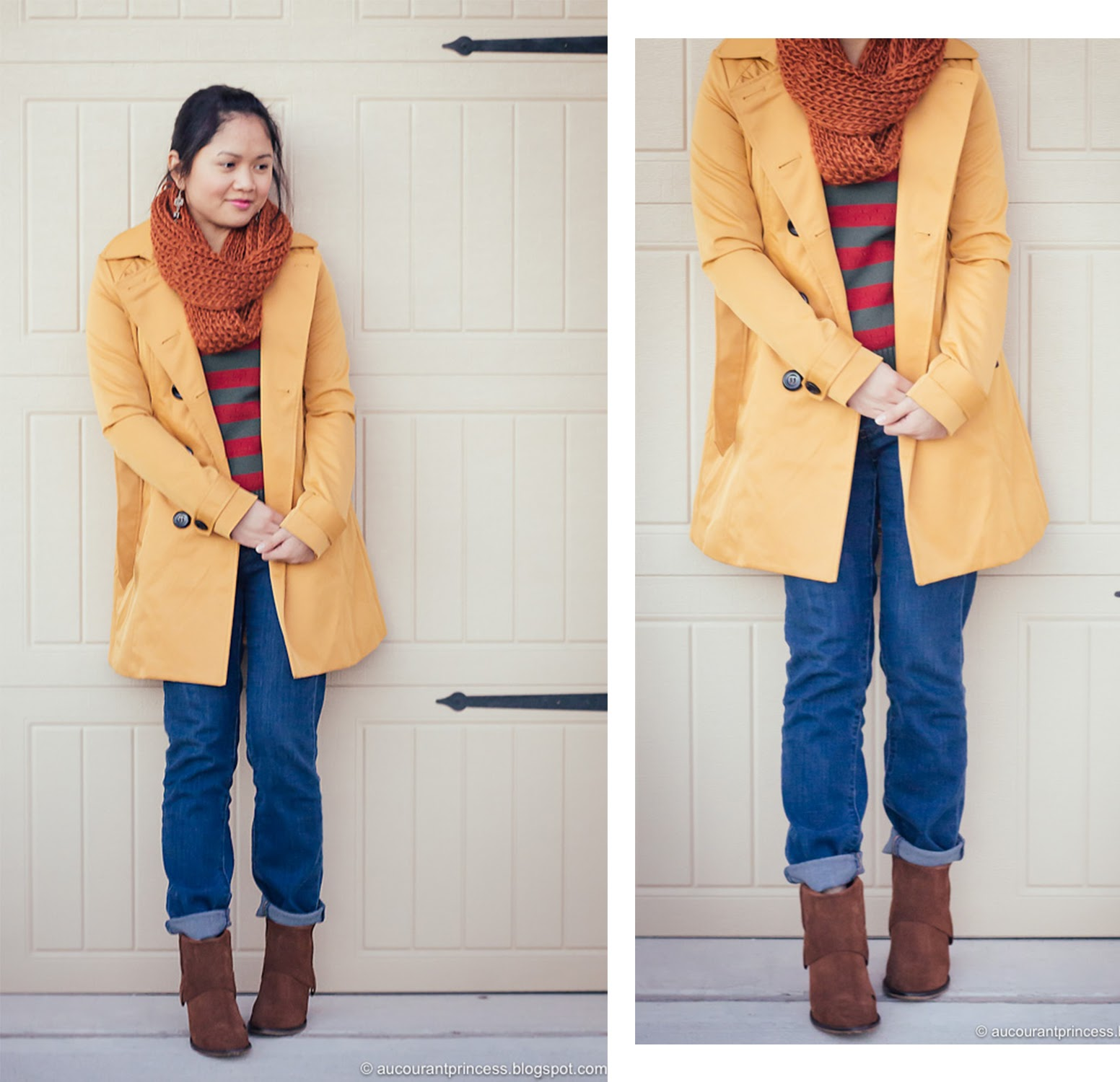 petite winter outfit