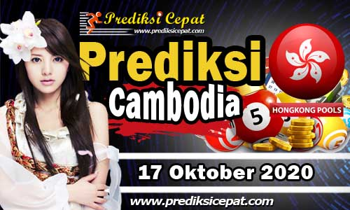 Prediksi Togel Cambodia 17 Oktober 2020