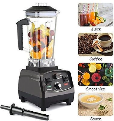 MengK Food Blender HS200 - 1400W Heavy Duty Fruit-Juice Blending Machine