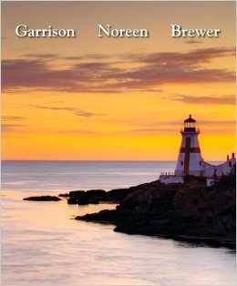 Managerial Accounting 14 Ed By Garrison Solution Manual Test Bank