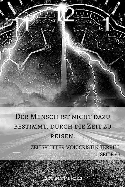Buchrezension #137 Zeitsplitter von Cristin Terrill