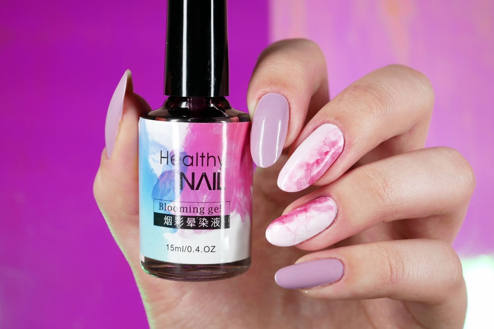 healthy nail bomming gel