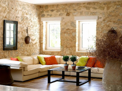 Batu alam mengisnpirasi desain bangunan yang cantik, elegan, natural, mewah