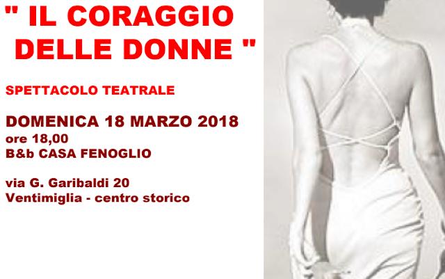 Ventimiglia, il Coraggio delle Donne è nel centro storico