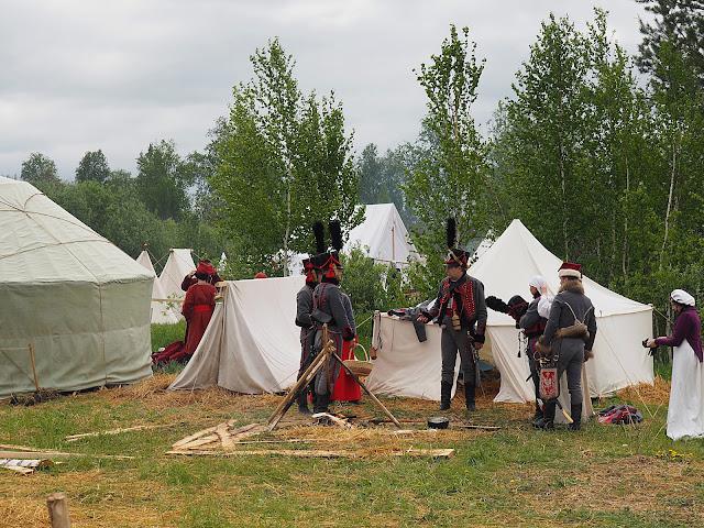 """""""Сибирский огонь - 2018"""", солдаты 1812  года (""""Siberian Fire - 2018"""", the soldiers of 1812)"""